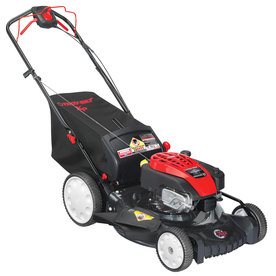 Troy-Bilt 175-cc 21-in Self-Propelled Rear Wheel Drive 3 in 1 Gas Push Lawn Mower with Briggs & Stratton Engine and Mulching Capability