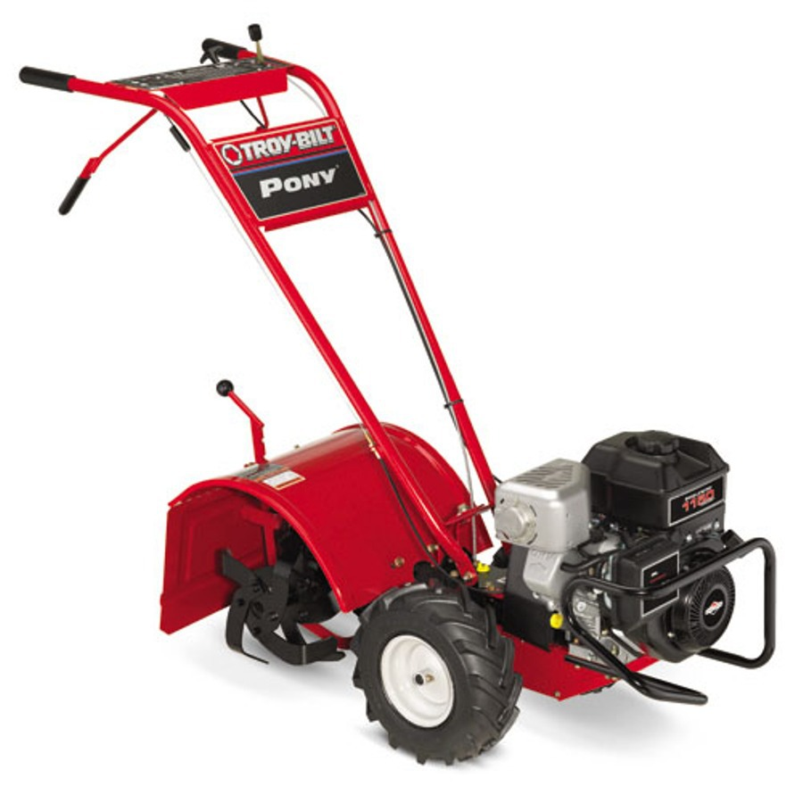 Shop Troy-Bilt Pony 250cc 16-in Rear-Tine Tiller with ...