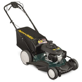 Yard-Man Select Series 160-cc 21-in Self-Propelled High Rear Wheel Drive 3 in 1 Gas Push Lawn Mower with Honda Engine and Mulching Capability 12AVD39Q701