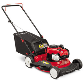 Troy-Bilt TB110 140-cc 21-in 3 in 1 Gas Push Lawn Mower with Briggs & Stratton Engine and Mulching Capability