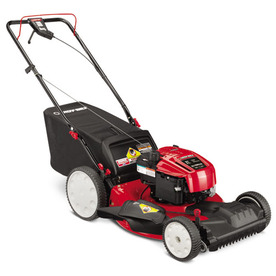 Troy-Bilt TB230 190-cc 21-in Self-Propelled Front Wheel Drive 3 in 1 Gas Push Lawn Mower with Briggs & Stratton Engine and Mulching Capability