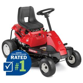 Troy-Bilt TB30R 11.5 HP Manual 30-in Riding Lawn Mower with Briggs & Stratton Engine