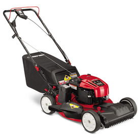 Troy-Bilt TB280 ES 190-cc 21-in Key Start Self-Propelled Front Wheel Drive 3 in 1 Gas Push Lawn Mower with Briggs & Stratton Engine and Mulching Capability