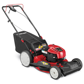 Troy-Bilt TB230 190cc 21-in Self-Propelled Front Wheel Drive 3 in 1 Gas Push Lawn Mower with Briggs & Stratton Engine