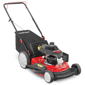 Troy-Bilt TB130 160cc 21-in 3-in-1 Gas Push Lawn Mower with Honda Engine and Mulching Capability
