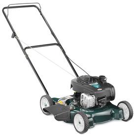 Bolens 125-cc 20-in Side Discharge Gas Push Lawn Mower