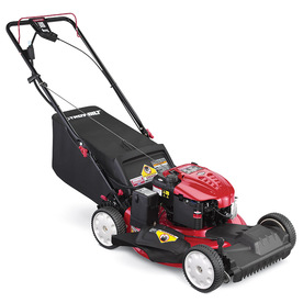 Troy-Bilt TB280 ES 190cc 21-in Self-Propelled Front Wheel Drive 3-in-1 Gas Push Lawn Mower with Briggs & Stratton Engine and Mulching Capability