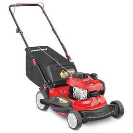 Troy-Bilt TB110 140cc 21-in Push 3-in-1 Gas Push Lawn Mower with Mulching Capability