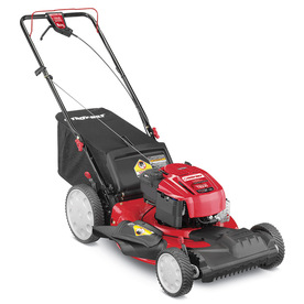 Troy-Bilt TB230 190cc 21-in Self-Propelled Front Wheel Drive 3-in-1 Gas Push Lawn Mower with Briggs & Stratton Engine and Mulching Capable