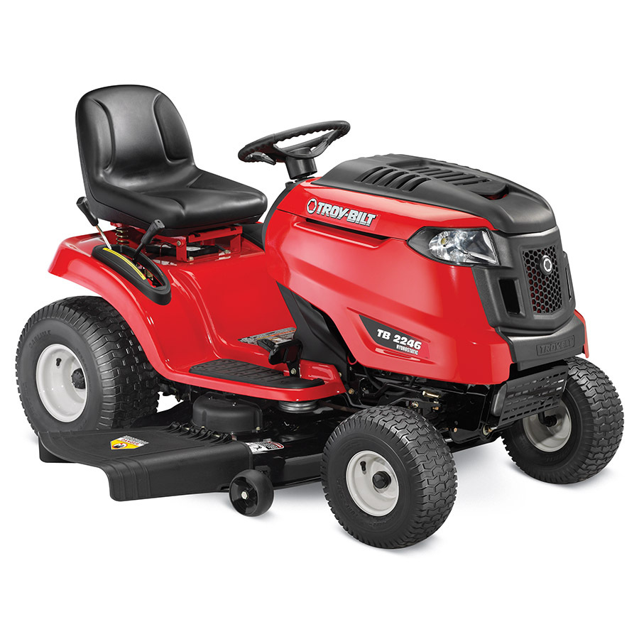 Shop Troy-Bilt TB2246 22-HP V-Twin Hydrostatic 46-in ...