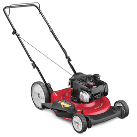 Yard Machines 125cc 21-in 2-in-1 Gas Push Lawn Mower with Briggs & Stratton Engine and Mulching Capability