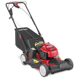 Troy-Bilt TB280 Es 190cc 21-in Key Start Self-Propelled Front Wheel Drive 3-in-1 Gas Push Lawn Mower with Briggs and Stratton Engine and Mulching Capability