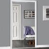 ReliaBilt Flush Mirror Bi-Fold Closet Interior Door (Common: 30-in x 80-in; Actual: 30-in x 78.56-in)