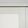 ReliaBilt 3-Lite Frosted Glass Bi-Fold Closet Interior Door (Common: 24-in x 80-in; Actual: 24-in x 78.68-in)