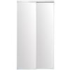 ReliaBilt 36-in x 80-in White Mirrored Interior Sliding Door