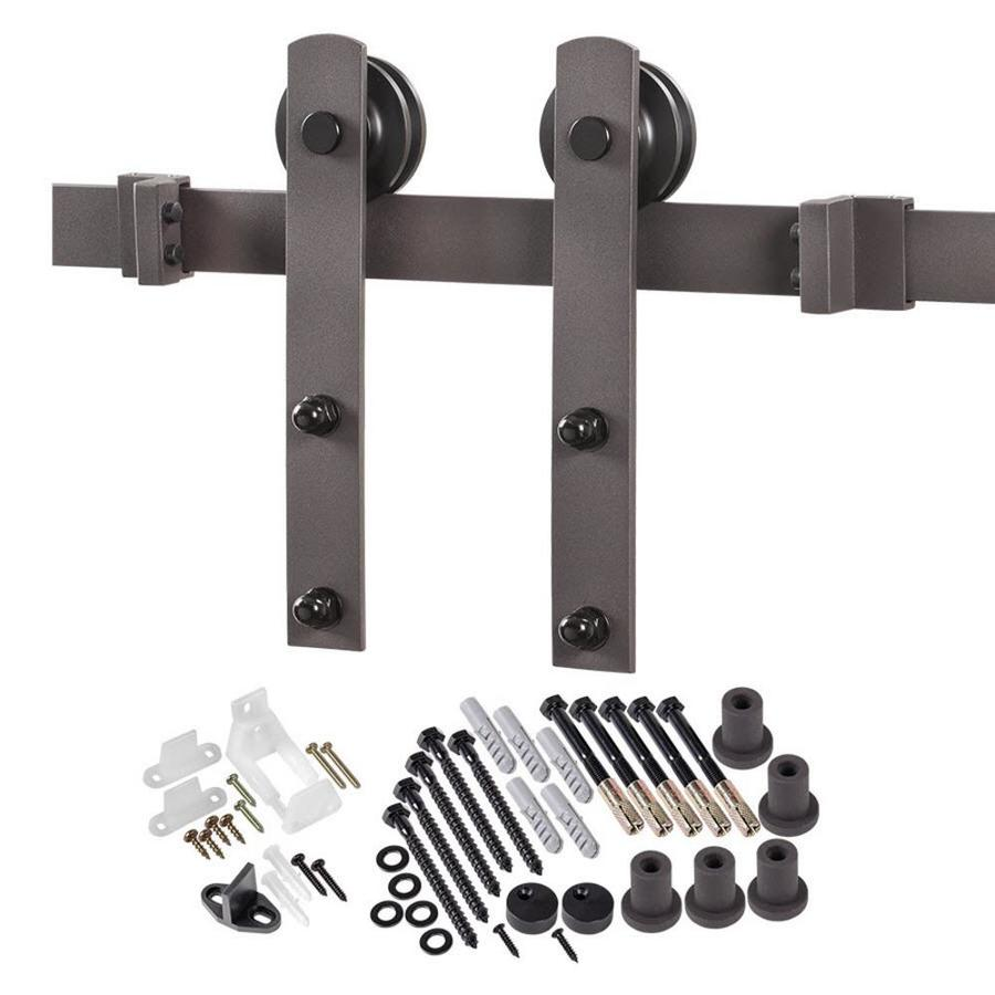 Additional images Barn door track hardware home depot