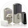 Schlage LiNK Re-Key Techonology Satin Nickel Residential Single-Cylinder Electronic Deadbolt