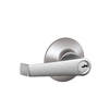 Schlage F Elan Traditional Satin Chrome Universal-Handed Keyed Entry Door Lever