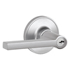 Schlage J Solstice Traditional Satin Chrome Universal Keyed Entry Door Lever