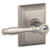 Schlage F Decorative Addison Collections Birmingham Traditional Satin Nickel Universal-Handed Keyed Entry Door Lever