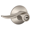 Schlage Sacramento Traditional Satin Nickel Universal Keyed Entry Door Lever