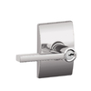 Schlage Latitude Polished Chrome Residential Keyed Entry Door Lever