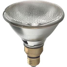 GE 2-Pack 90-Watt PAR38 Bright White Dimmable Outdoor Halogen Flood Light Bulbs