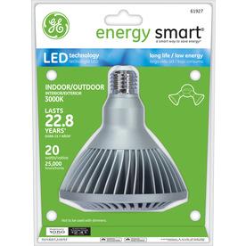 GE 20-Watt (90W) PAR38 Bright White Outdoor LED Flood Light Bulb ENERGY STAR