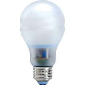 GE 2-Pack 15-Watt (60W Equivalent) 2,600K A19 Medium Base (E-26) Color-Enhancing CFL Bulb