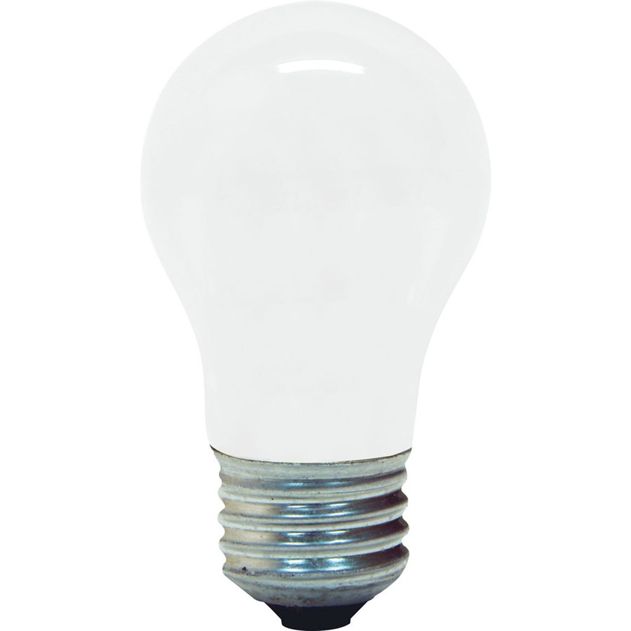 shop ge 2 pack 40 watt medium base soft white dimmable decorative incandescent light bulbs at