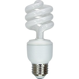 GE 2-Pack 13-Watt (60W) Spiral  Base Soft White (2700K) CFL Bulbs ENERGY STAR