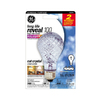 GE 100-Watt A19 Color-Enhancing Dimmable Outdoor Halogen Light Bulb