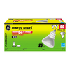 GE 3-Pack 26-Watt (90W) BR40 Medium Base Soft White (2700K) CFL Bulbs ENERGY STAR