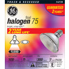 GE 75-Watt PAR30 Shortneck Bright White Dimmable Halogen Flood Light Bulb