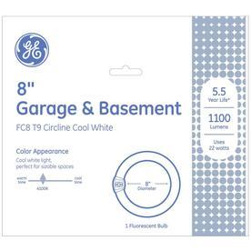 GE 22-Watt 4,100K Cool White Circline Fluorescent Tube Light Bulb (Common: 8.25-in; Actual: 8.25-in)