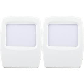 Style Selections 2-Pack White LED Night Light