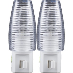 Style Selections 2-Pack White Night Light