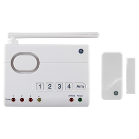 GE Choice Alert Wireless Alarm Control Center with Window Sensor