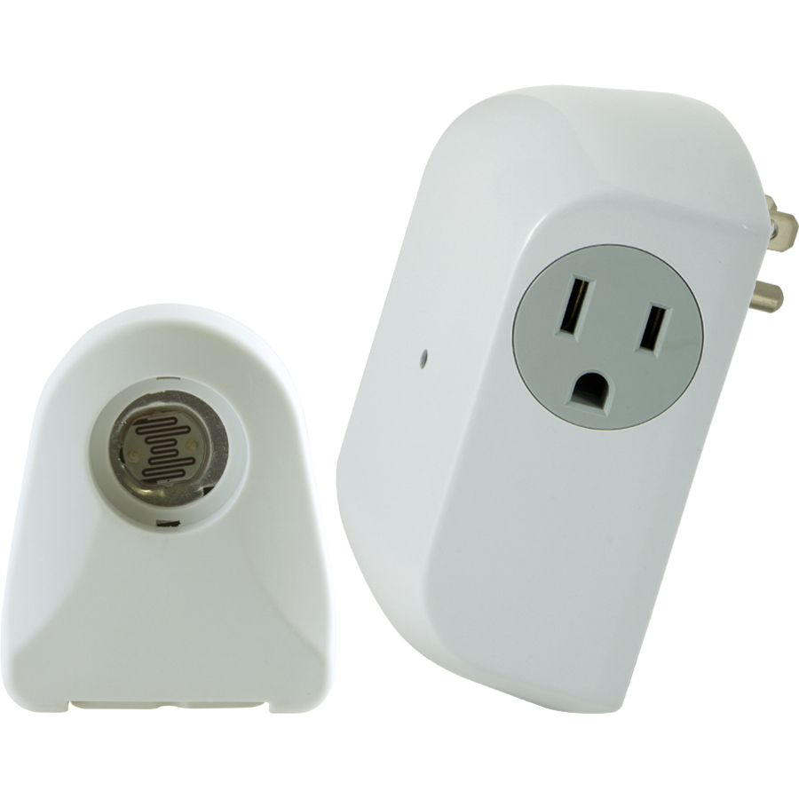 Dusk To Dawn Light At Lowes: Shop Utilitech White Dusk-To-Dawn Security Light Control