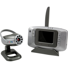 "GE Wireless Security Camera with Portable Receiver 2.5"" Screen"