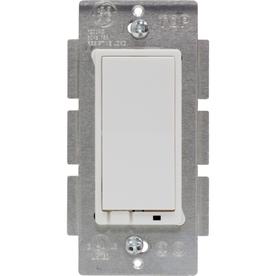 GE 3-Way White Light Switch