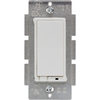 GE 15-Amp White Decorator Light Switch