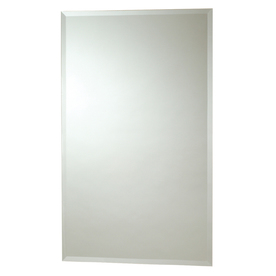 Zenith 16-in White Surface Mount and Recessed Medicine Cabinet