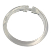 Style Selections 12-Pack Clear Single Shower Rings