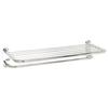 Style Selections Chrome Zinc Bathroom Shelf
