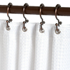 allen + roth 12-Pack Oil-Rubbed Bronze Double Shower Hooks