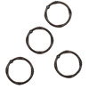 allen + roth 12-Pack Oil-Rubbed Bronze Single Shower Rings