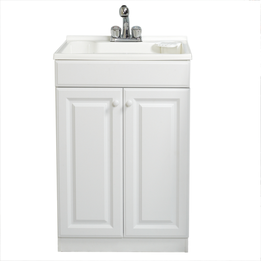 White Utility Sink : Shop Style Selections White Polypropylene Utility Tub at Lowes.com