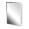 Project Source 16-in x 20-in Rectangle Surface Recessed Mirrored Plastic Medicine Cabinet