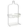 Zenna Home 19.38-in H Over the Showerhead Aluminum Hanging Shower Caddy